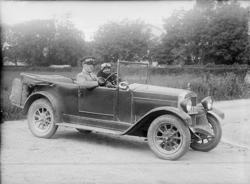 Automobil, öppen Fiat 1925 års modell