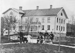 Manbyggnaden på Samneröds gård 1860-talet