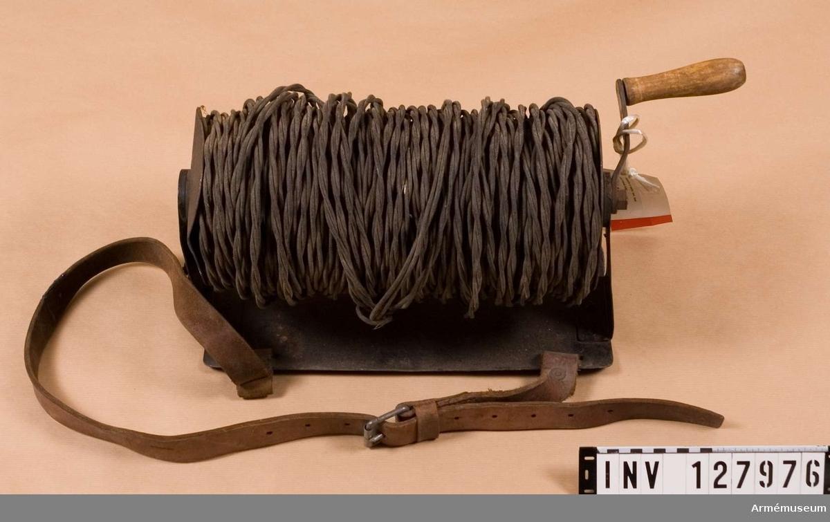 Isolerad tvinnad kabel.