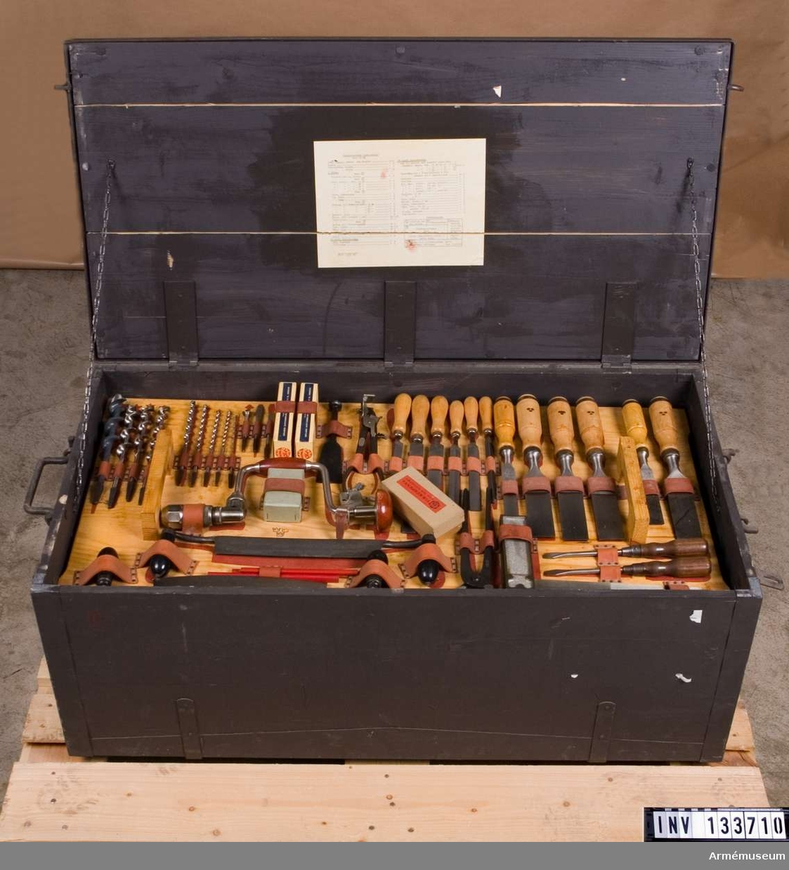 Träarbetsutrustning