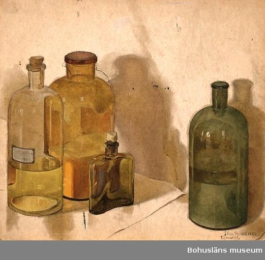 Flaskor med medicininnehåll