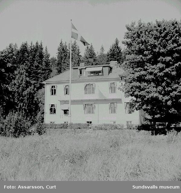 Solgläntan, stadens barnhem. nuvarande  Solgläntans förskola. Alliero.