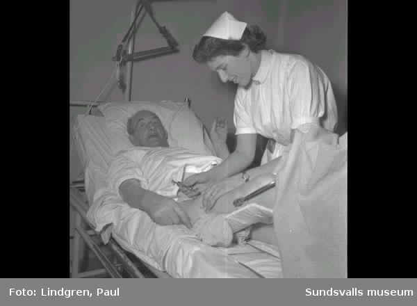 Ett dygn med en sjuksyster.