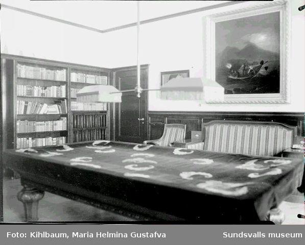 Interiör från Villa Marieberg.