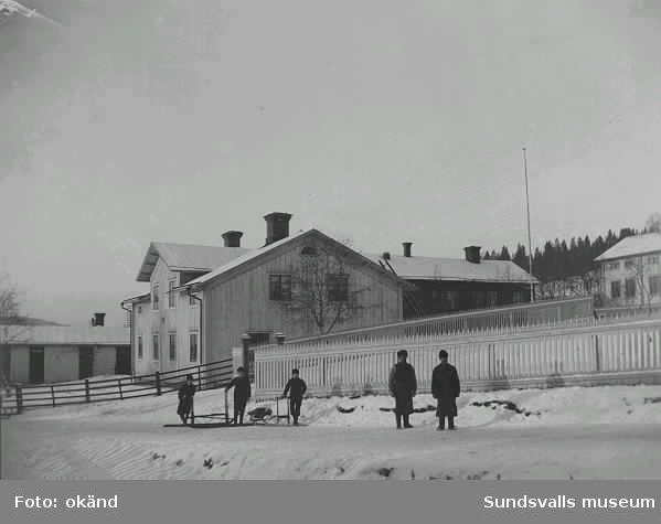 Sjöströmsgårdarna vid stadsgränsen efter Heffnersvägen