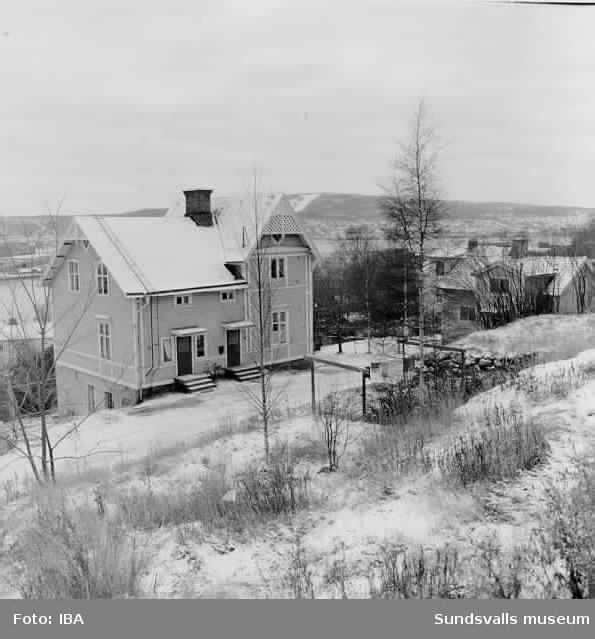 Tjädervägen, södra sidan, HSBhus 14 nov 1972