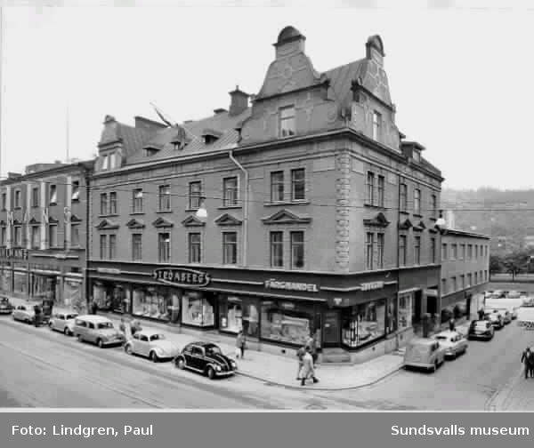 Strömbergs färghandel. Storgatan 36