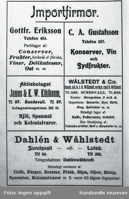 Dahlén & Wåhlstedt