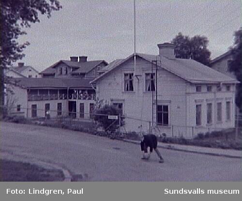 Fredsgatan 24. Byggnaden uppförd 1895.