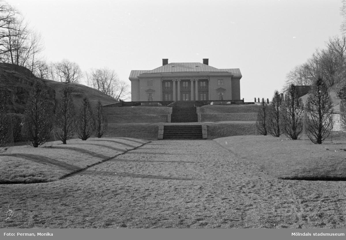 Gunnebo slott våren 1992.