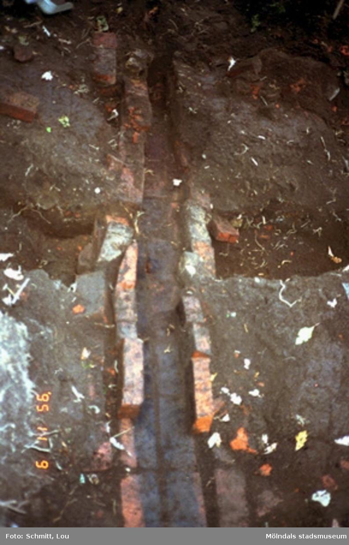 Ett utgrävningsschakt.