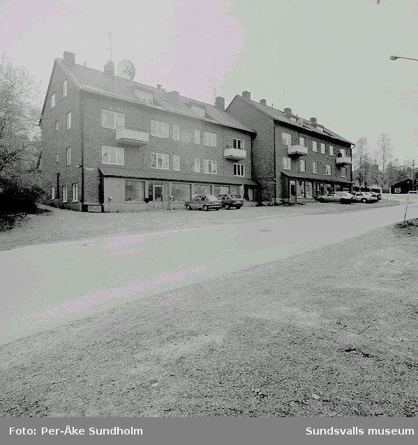 Flerbostadshus med affärs- och kontorslokaler, Pilen 10, Nygatan 43 - 45.