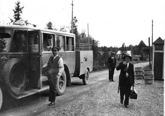 Linjen Östersund - Valsjöbyn Valsjöbyn.