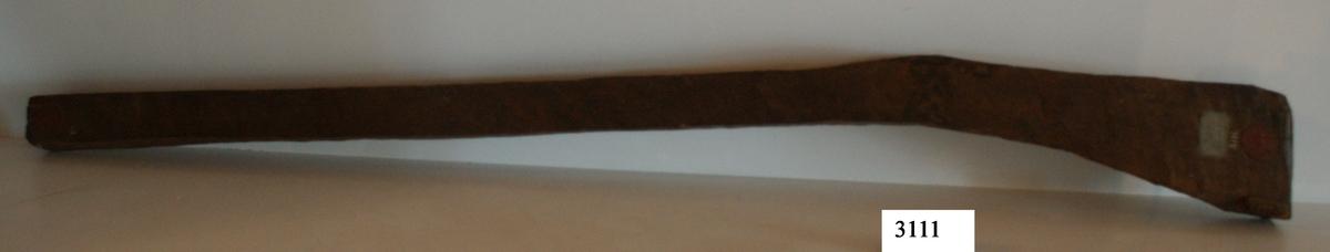 Ämne till gevärsstock, av trä.