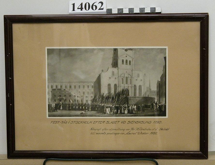 Festtåg i Stockholm efter slaget vid Svensksund 1790