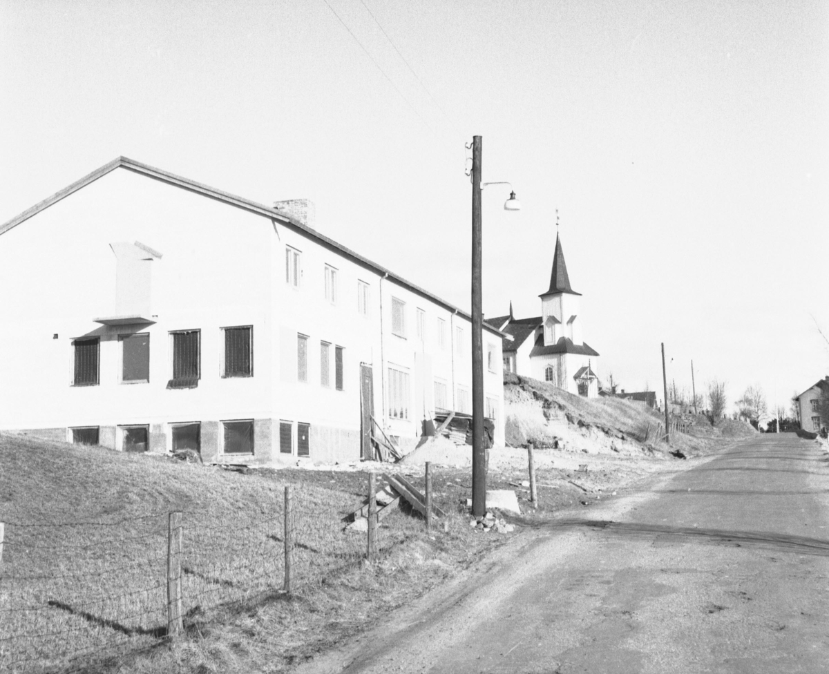 Alvdal, Steigjela, Sandmæl bygget, Kirke