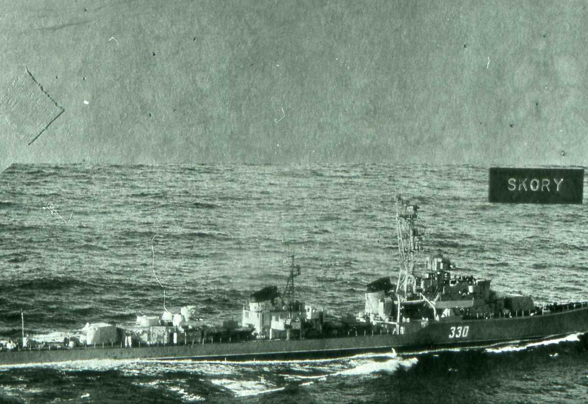 Russisk fartøy av Skory - klassen med nr. 330.