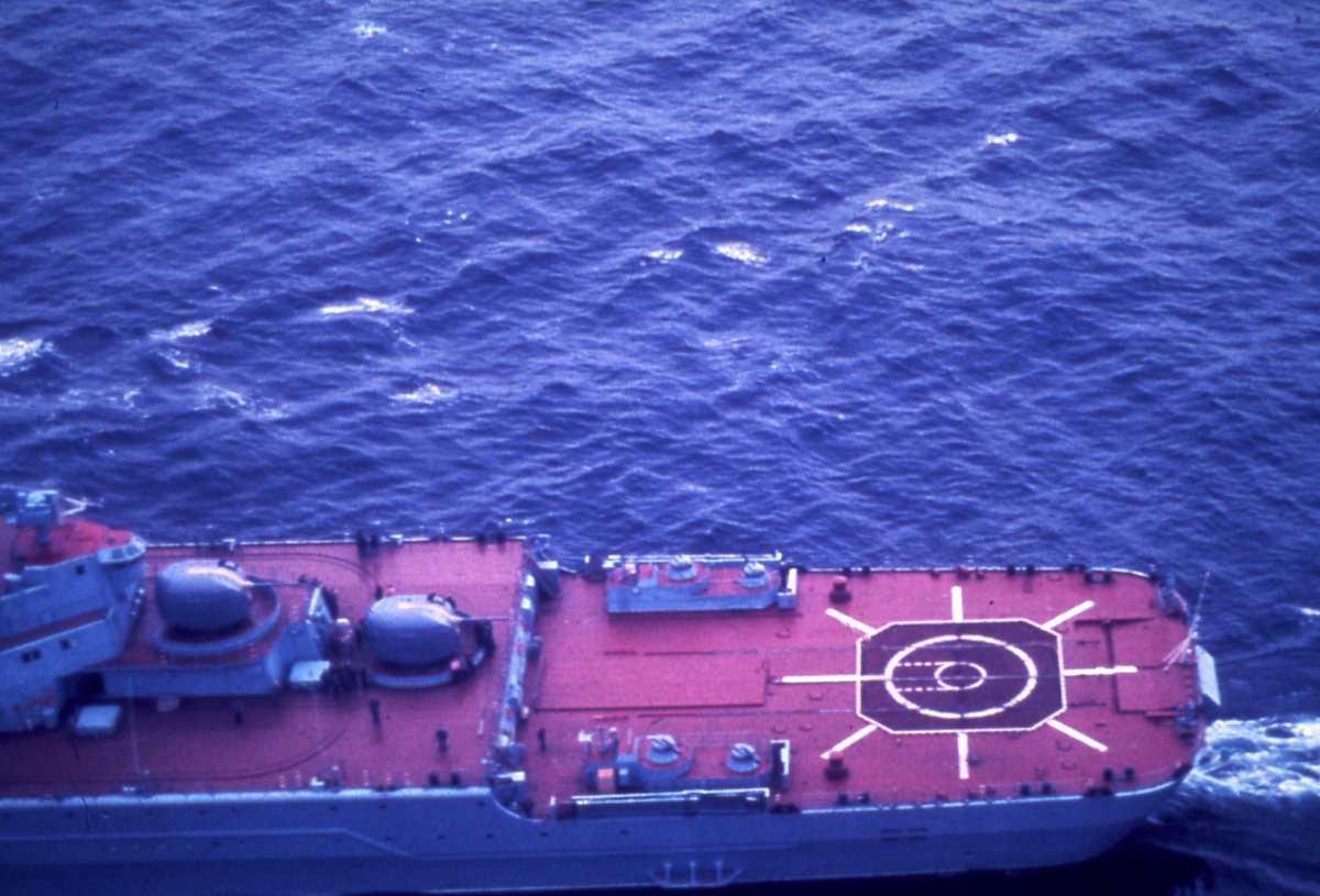 Russisk fartøy av Kirov - klassen.