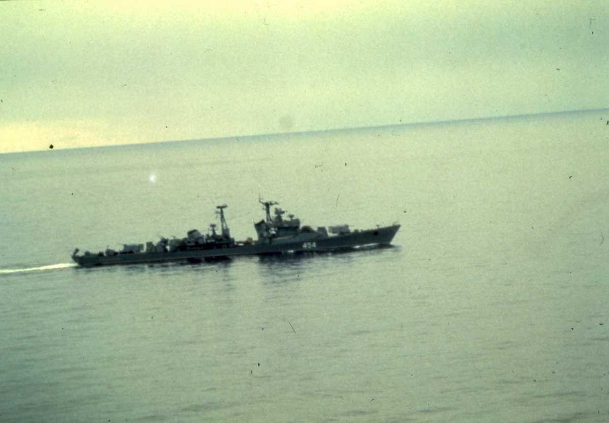 Russisk fartøy av Kotlin - klassen med nr. 454.