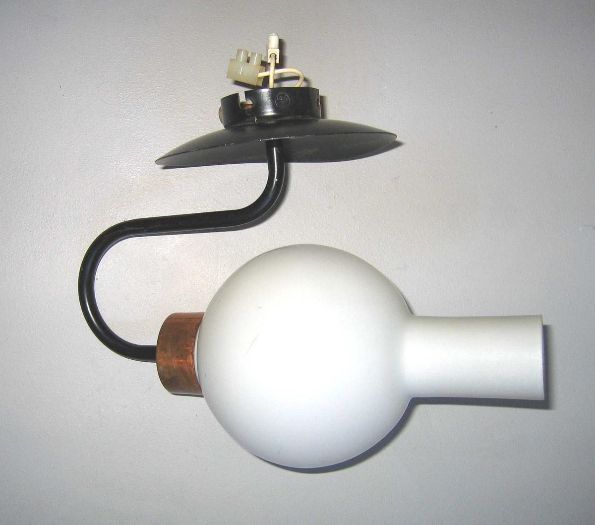 Vegglampe/lampett frå omkring 1965-1970.