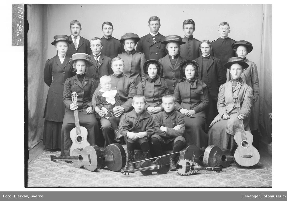 Musikere i gruppe