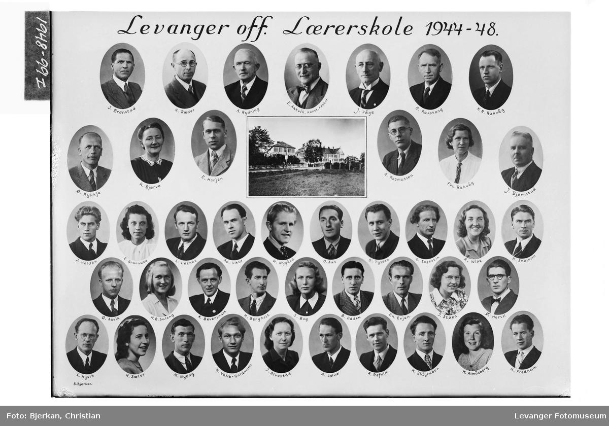 Levanger off. Lærerskole i 1944-48