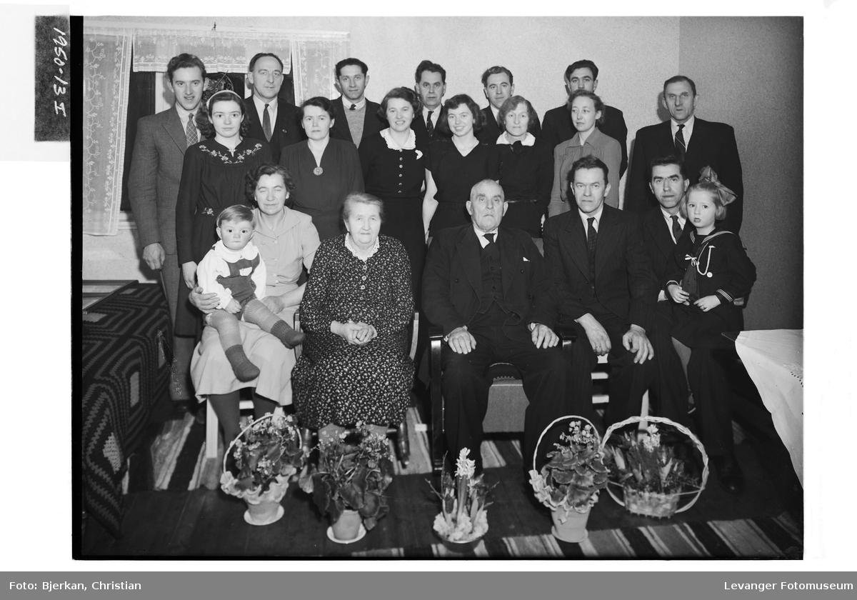 Olaf Berg med familie