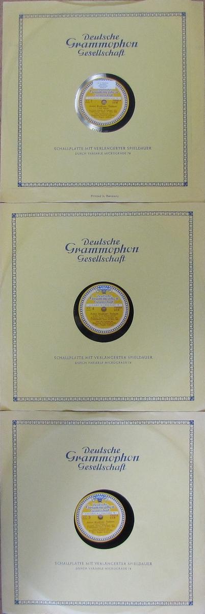 Vinylskivor, Deutsche Grammophon Gesellschaft