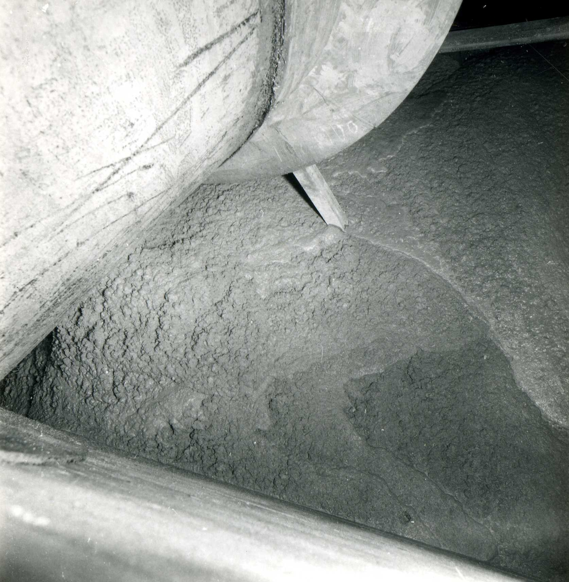 Tilløpstunnel frå Vesås. Støyping i tunnel