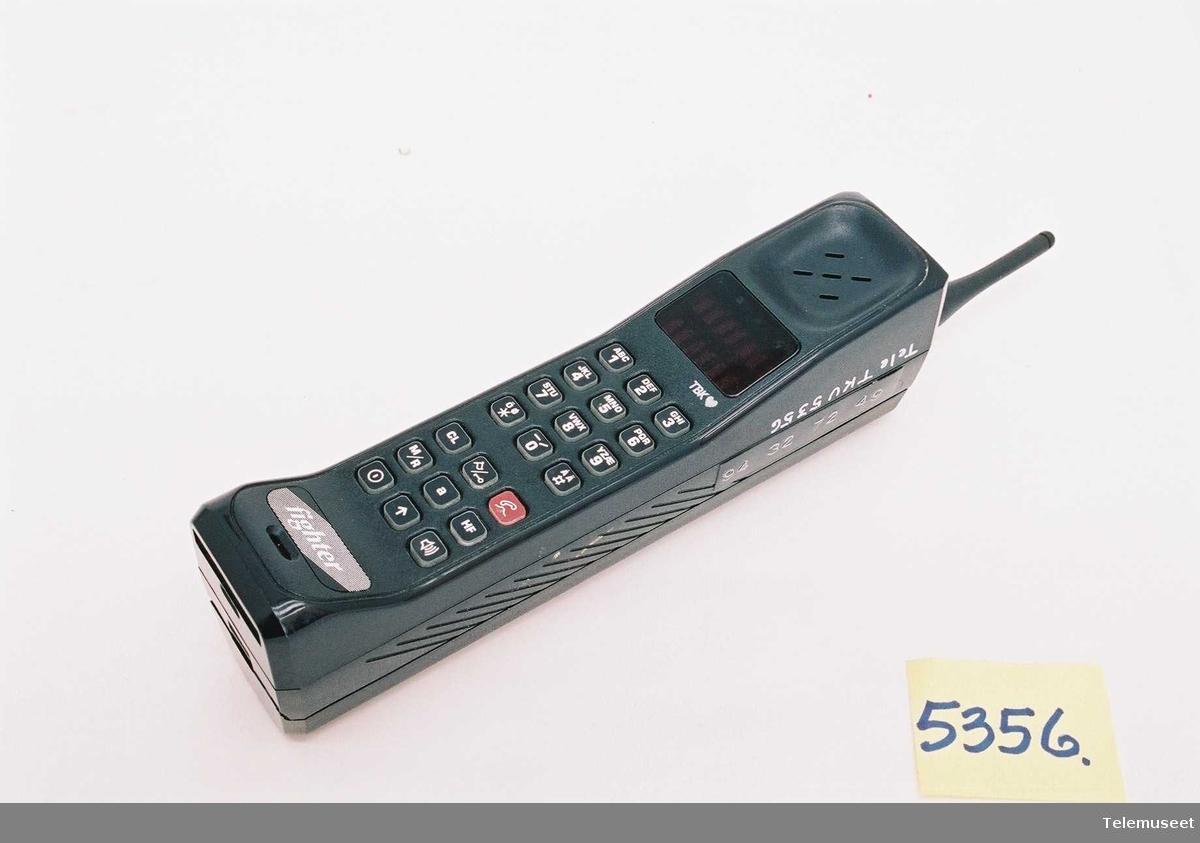 Type: SLF 3720D-T Serie nr: 1902TU1325 F09YFD6946DG  Sending/Bruk: 100min/210min Standby: 14t/28t Utgangseffekt: 1W Batteri: Motorola NiCa 7,5VDC 1500/3000mAh Lader: (5356B) SPN 4047A 0394T03941 Adapter: (5356C)(Made in UK) SPN 4037A 8,5V 10,8W