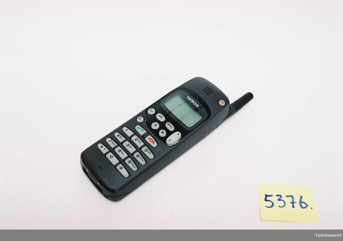 Nokia Type NHE-5NX 490157/20/141833/0 Code: 05011158 Batteri:  Ni-Mh (Nokia Finland.)  6V 600mAh  Standby tid: 100timer Taletid 3t 30min Lader : (5376B) Nokia (Finland) Output 10V 740mA Type ACH-6E