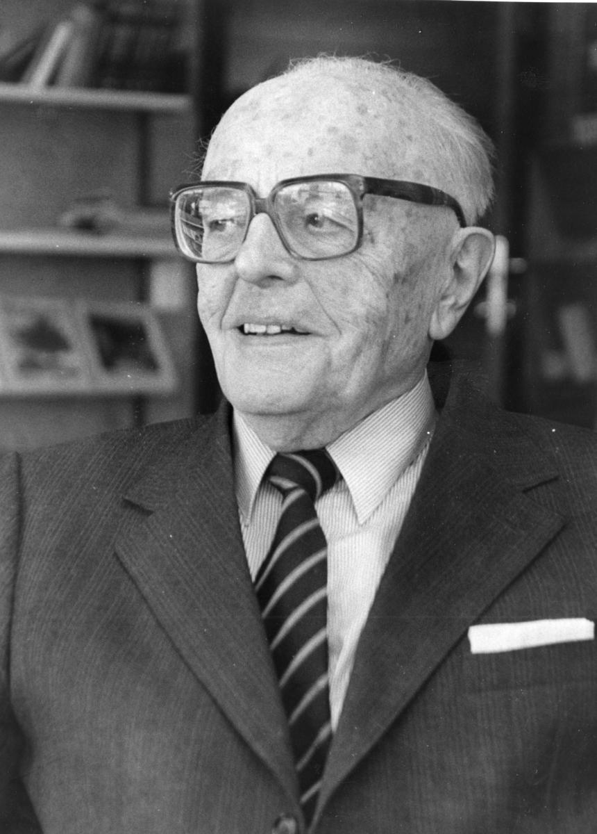Torkell Arnold Tande på besøk i Sannidal. Han ble sogneprest i Sannidal 12.januar 1931.  Bodde i Oslo i senere tid.