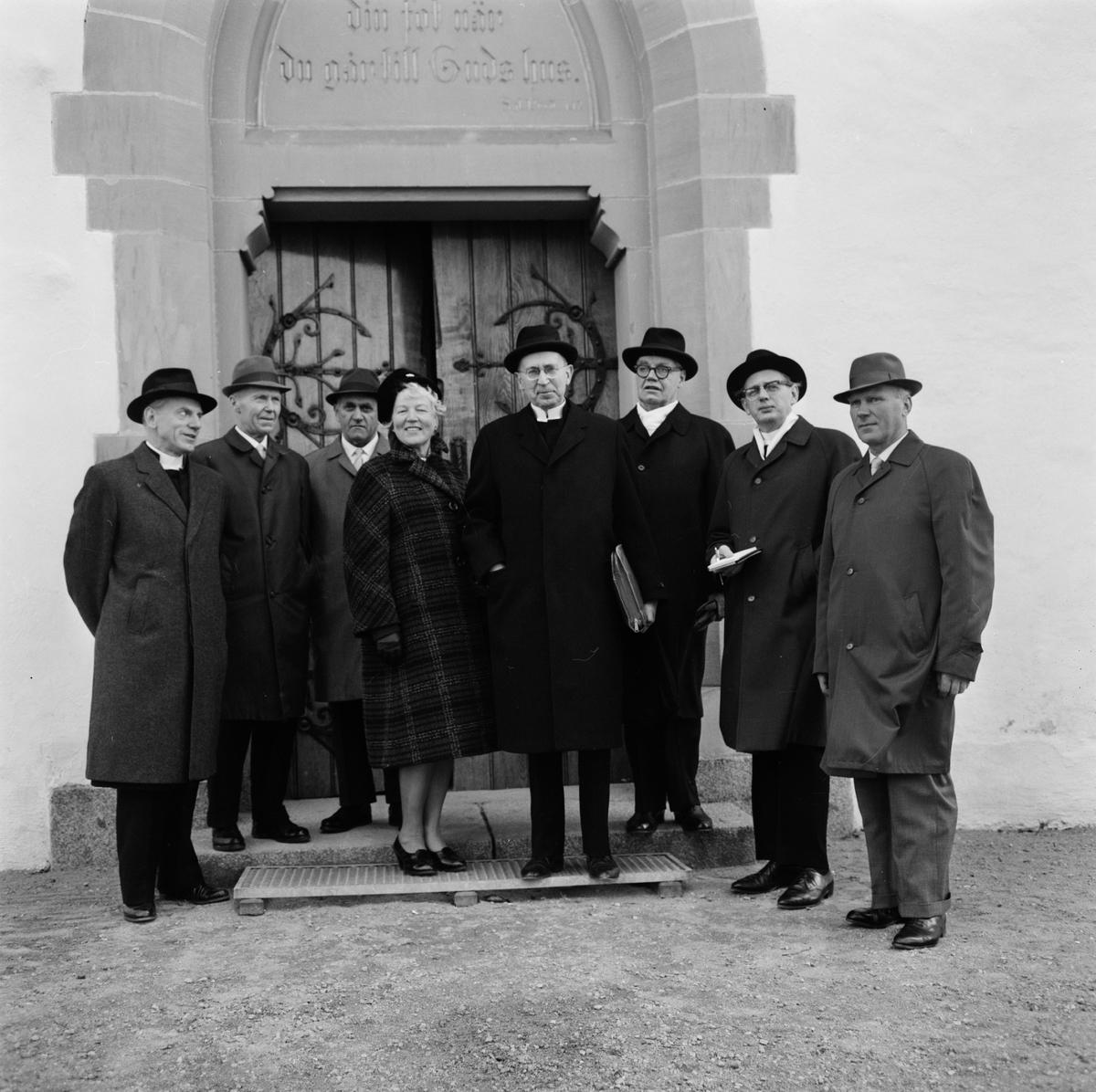 Ärkebiskopen besöker Tierps församling, Uppland oktober