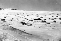 Tettstad, Ustaoset, Ustaoset Hotell, hyttegrend, vinter,