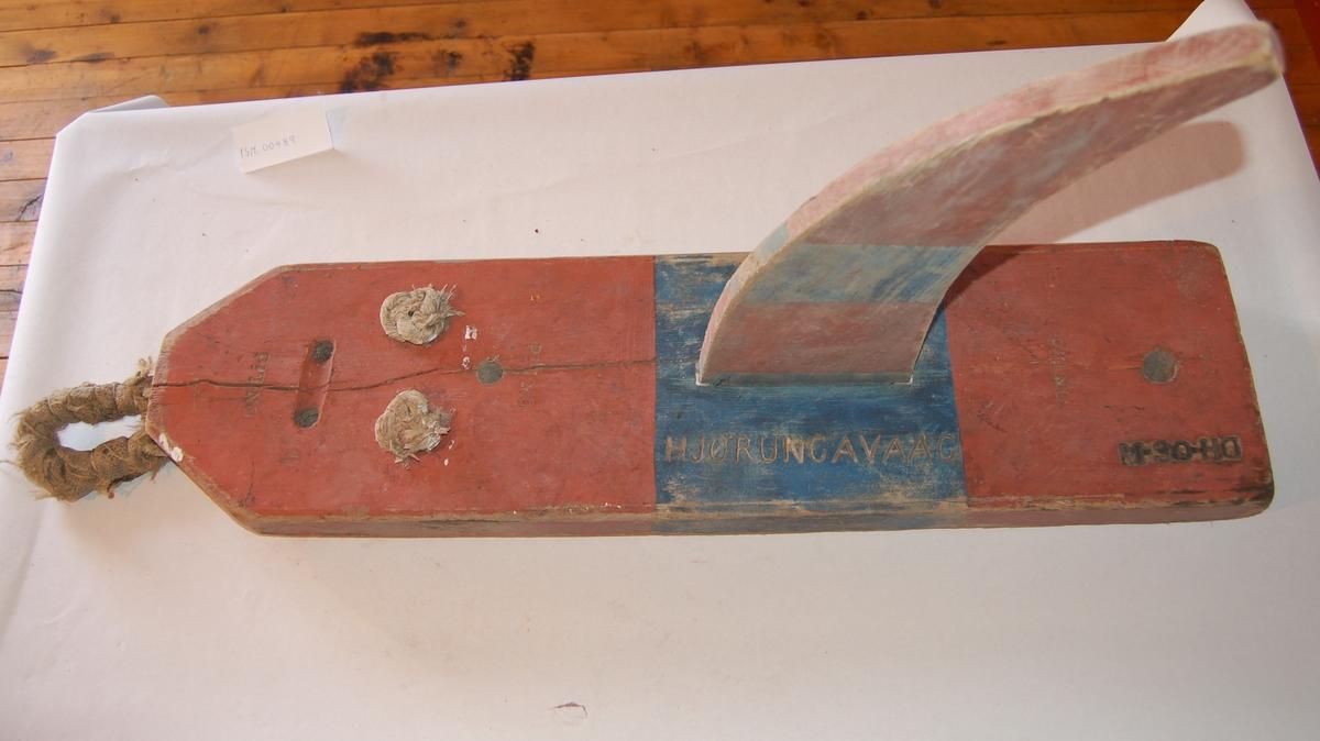 Form: Båtform med segl