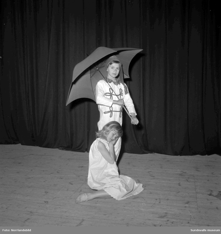 Generalrepetition på Ingalisa Erikssons balett på Sundsvalls teater.
