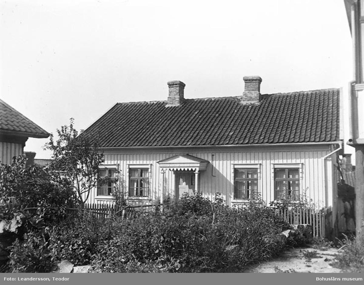 """Text som medföljde fotot: """"Huset på Mollösund""""."""