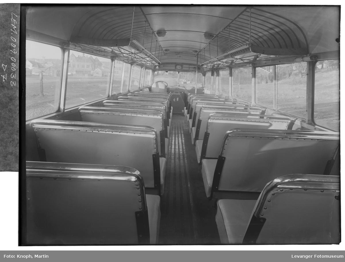 Interiør i buss V