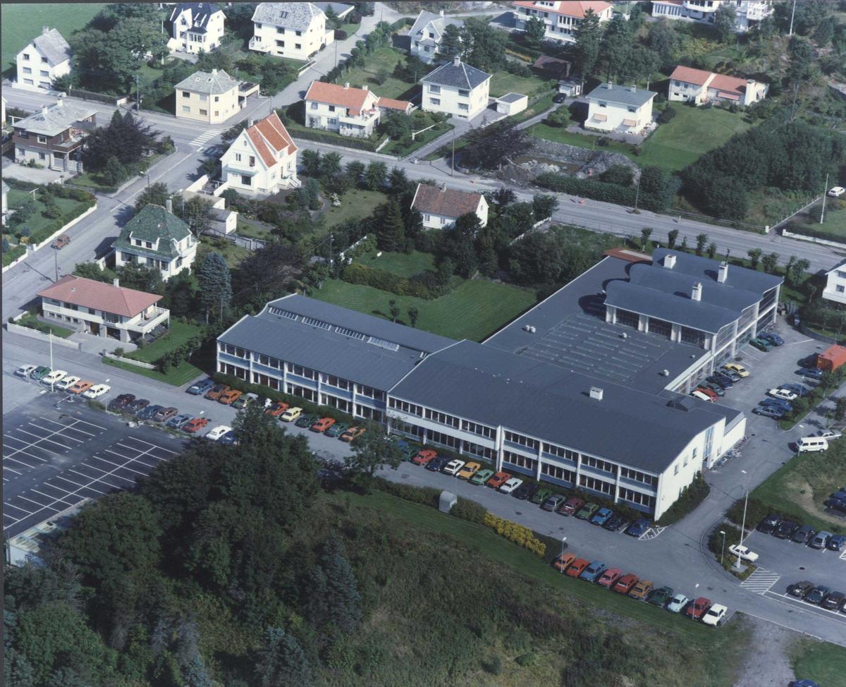 Flyfoto av Haugesund Maskinistskole