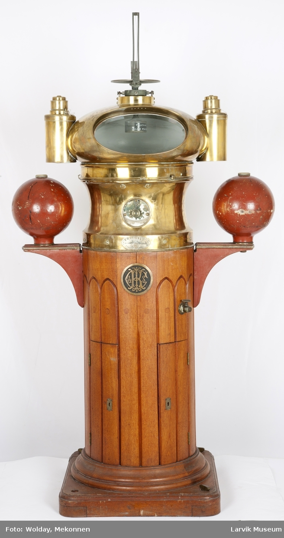 Natthus med luftkompass