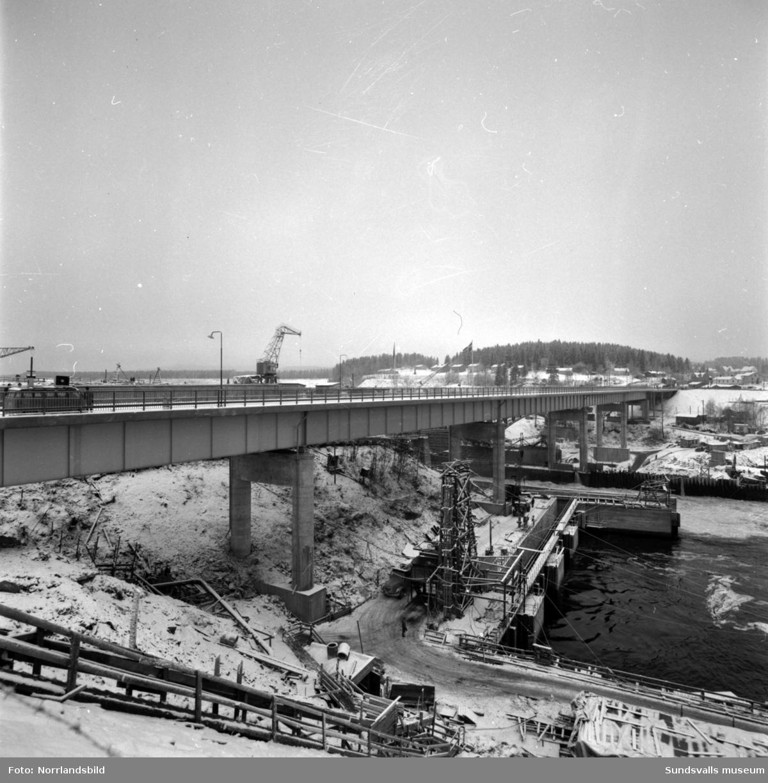 Invigningen av Bergeforsbron.