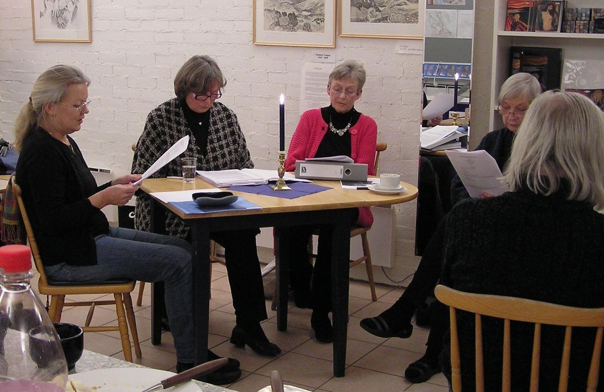 Berg-Kragerø Museumsvenners årsmøte den 25.01.2011. Lars Erik Vååle kåserte om all bråket som hadde vært rundt byvåpenet i Kragerø.