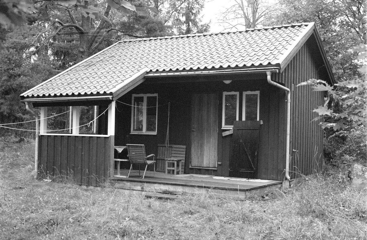 Bostadshus, Slånbacken, Edeby 2:1, Rasbokils socken, Uppland 1982