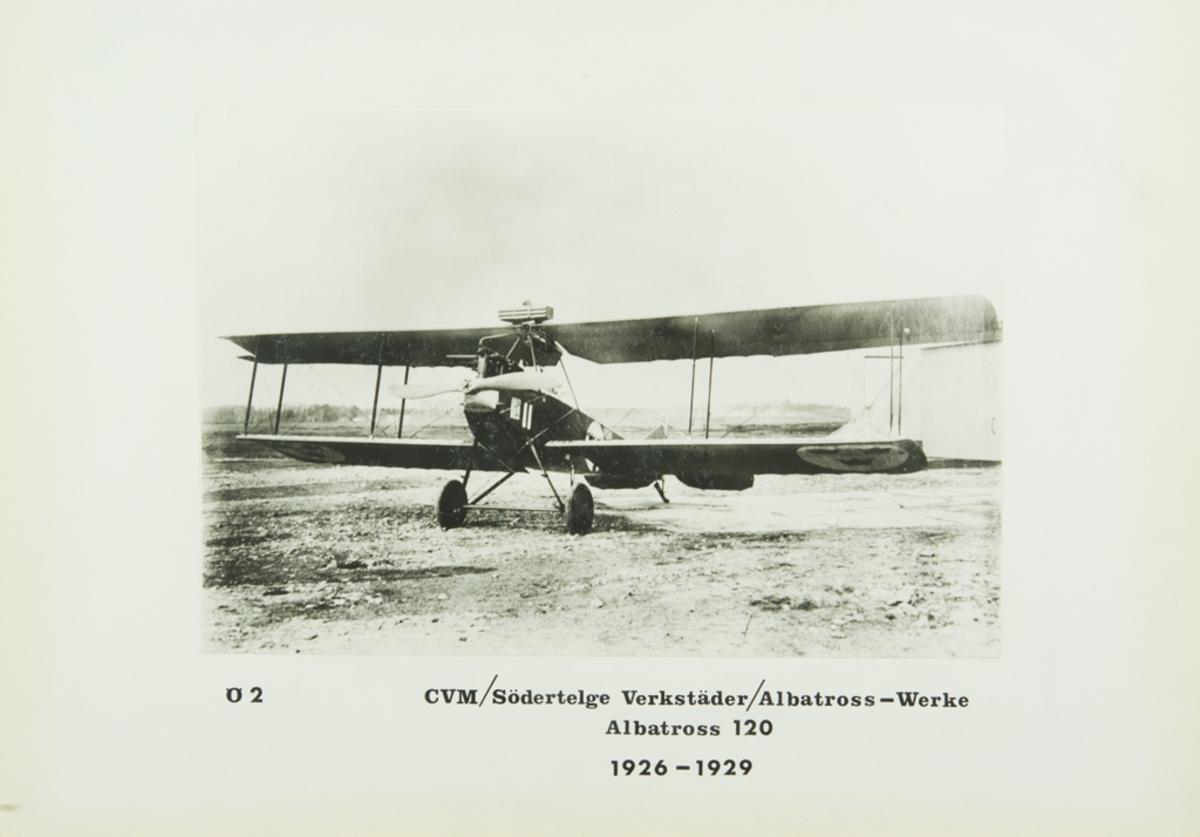 Inglasat foto på Ö 2 - CVM/Södertelge Verkstäder/Albatross-werke Albatross 120 1926-1929