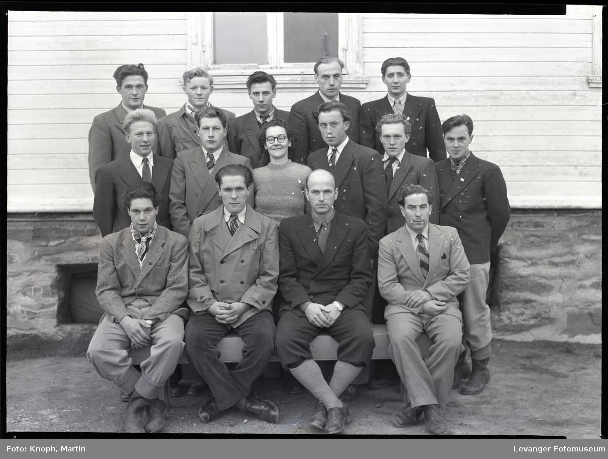 Elever ved Mære Landbruksskole