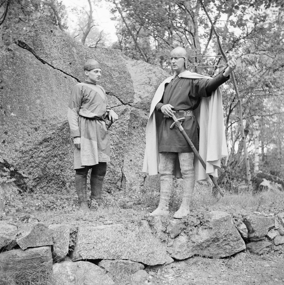 Traditionsfest, Härkeberga, Härkeberga socken, Uppland, 1946