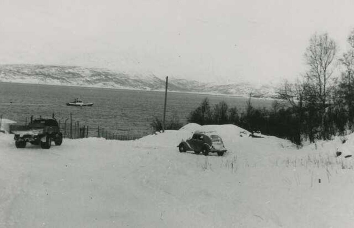 Vassvik Sjøveien. Vinter.