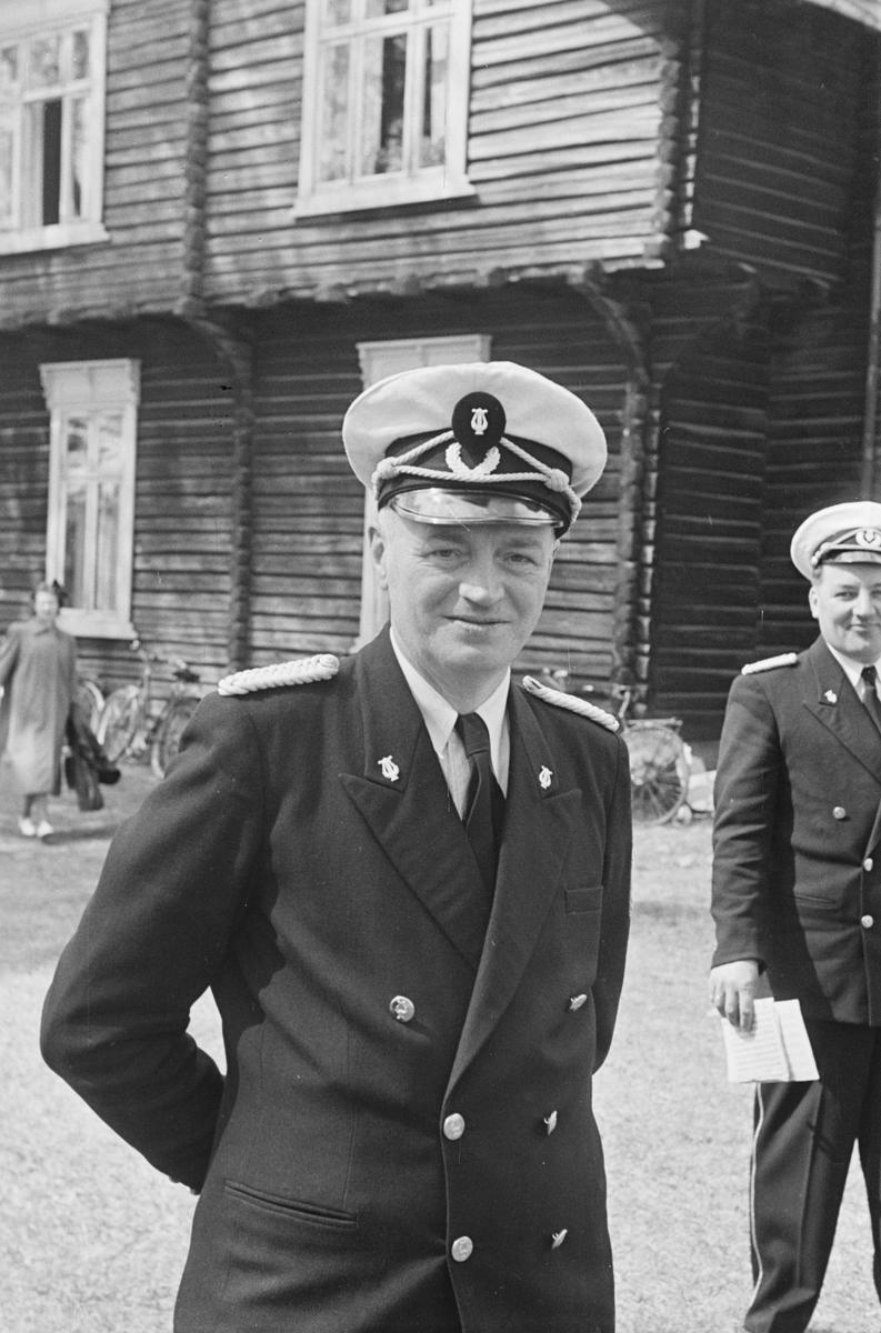 17. mai. Elverum. 1953. Musikkorps.