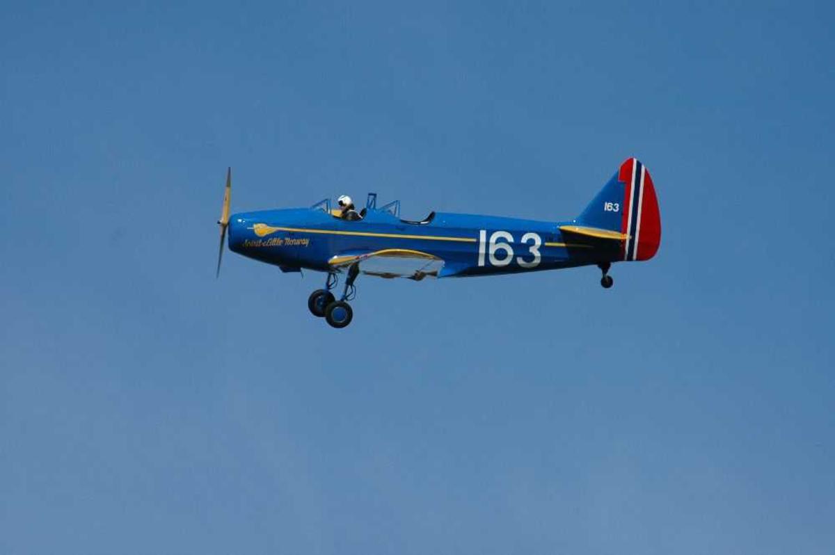 Ett fly i lufta. Fairchild Cornell PT-19/19-A, 163