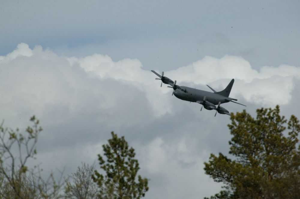 Lockheed P-3N Orion fra Norway - Air Force i lavflyging